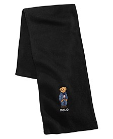 Men's Blue Jean Polo Bear Scarf