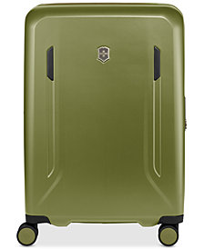 "CLOSEOUT! Victorinox Swiss Army VX Avenue 25"" Medium Hardside Spinner Suitcase in Olive"