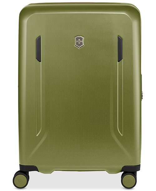 "Victorinox Swiss Army CLOSEOUT! VX Avenue 25"" Medium Hardside Spinner Suitcase in Olive"