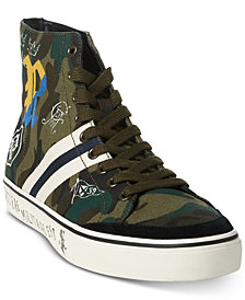 Polo Ralph Lauren Men's Solomon Downhill Skier Sneakers