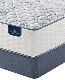 Serta Perfect Sleeper 12.5'' Broadview Firm Mattress Set-  Twin