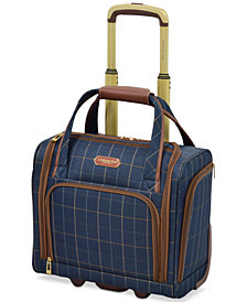 "London Fog Brentwood 15"" Under-Seat Carry-On Suitcase, Created for Macy's"