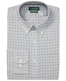 Lauren Ralph Lauren Men's Windowpane Dress Shirt