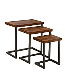 Emerson Nesting Tables, Set of 3