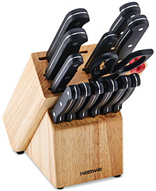 Farberware 15-Pc. Knife & EdgeKeeper Block Set