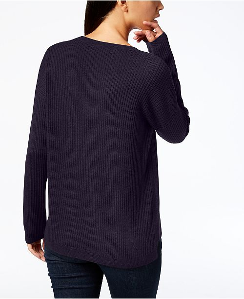 2e402377304 Eileen Fisher Scoop-Neck Cashmere Sweater