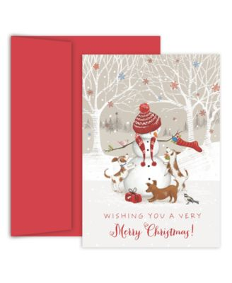 Snowman & Friends Boxed Cards
