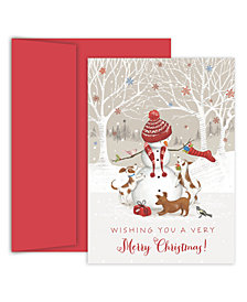 Masterpiece Studios Snowman & Friends Boxed Cards