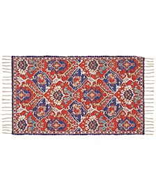 "Persiana 02 Red 27"" x 45"" Accent Rug"