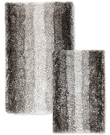 Sunham Silkken 2-Pc. Ombré Stripe Bath Rug Set