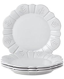 Lenox Alpine  Carved Dinner Plates, Set of 4