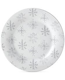 Lenox Alpine Snowflake Round Serving Tray