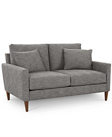 "Emberli 57"" Fabric Loveseat - Custom Colors, Created for Macy's"