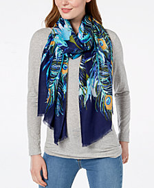 I.N.C. Peacock Garden Soft Wrap, Created for Macy's