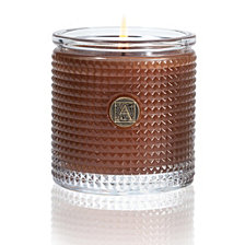 Aromatique Harvest Textured Glass Candle