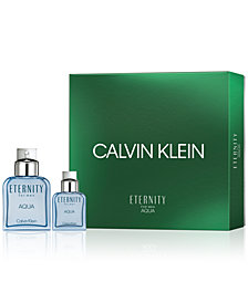 Calvin Klein Men's 2-Pc. Eternity Aqua For Men Gift Set, A $125 Value