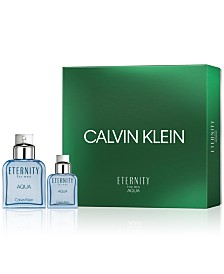 Calvin Klein Men's 2-Pc. Eternity Aqua For Men Gift Set