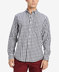 Tommy Hilfiger Men's Stall Checked Shirt, Created for Macy's