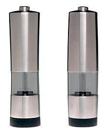 BergHOFF Geminis Stainless Steel Electronic Salt & Pepper Mill Set