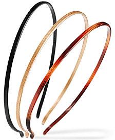 France Luxe 3-Pc. Set Skinny Headbands