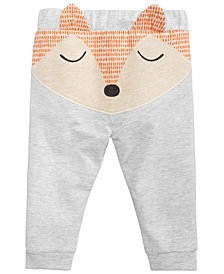 First Impressions Baby Boys & Girls Fox Jogger Pants