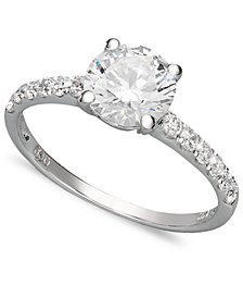 Arabella 14k White Gold Ring, Swarovski Zirconia Wedding Ring (2-3/4 ct. t.w.)