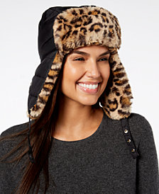 I.N.C. Faux-Fur Trapper Hat, Created for Macy's