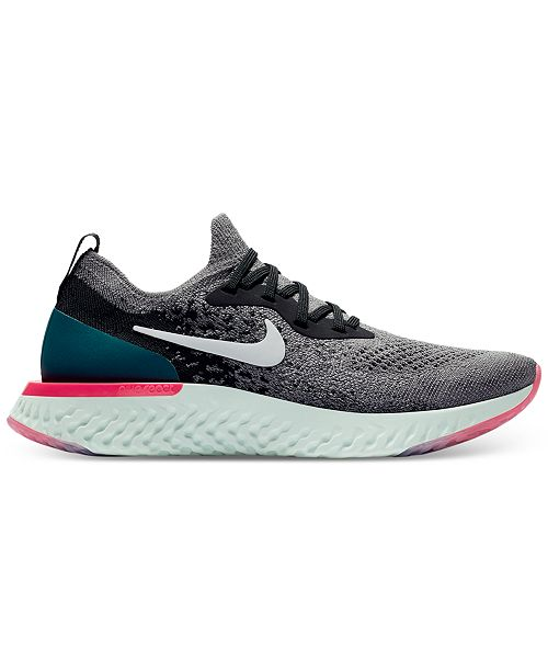 e305be28347 Nike Women s Epic React Flyknit Running Sneakers from Finish Line ...