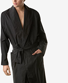 Polo Ralph Lauren Men's Sleepwear, Soho Light Weight Modern Plaid Woven Robe & PJ Pants