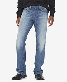 Silver Jeans Co. Men's Gordie Loose Straight-Fit Stretch Jeans
