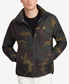 Polo Ralph Lauren Men's Camo Waterproof Jacket