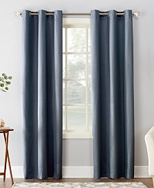 "Sun Zero Cooper 40"" X 84"" Textured Thermal Insulated Grommet Curtain Panel"