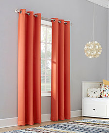 "Sun Zero Riley 40"" X 95"" Kids Bedroom Blackout Grommet Curtain Panel"