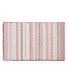 "Fashion Stripe 21"" x 34"" Bath Rug, Created for Macy's"