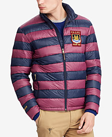 Polo Ralph Lauren Men's Varsity Striped Packable Jacket