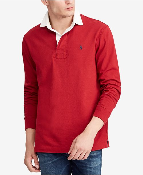c284842e756 Polo Ralph Lauren Men's The Iconic Rugby Classic Fit Shirt & Reviews ...