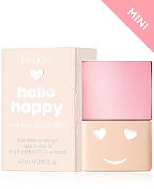 Benefit Cosmetics Hello Happy Soft Blur Foundation Mini