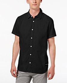 Calvin Klein Jeans Men's Short-Sleeve Oxford Shirt