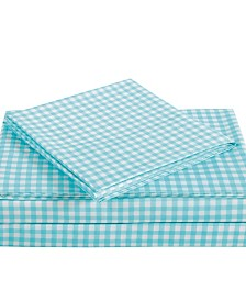 Truly Soft Everyday Gingham Sheet Set Collection