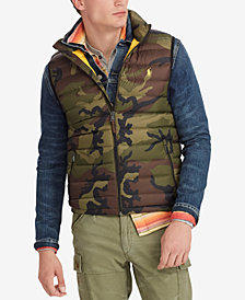 Polo Ralph Lauren Men's Camo Packable Vest