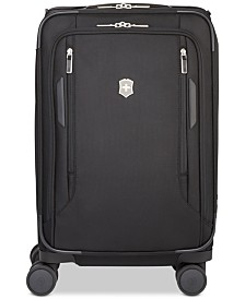 "Victorinox Swiss Army VX Avenue 22"" Frequent Flyer Softside Expandable Carry-On Suitcase"