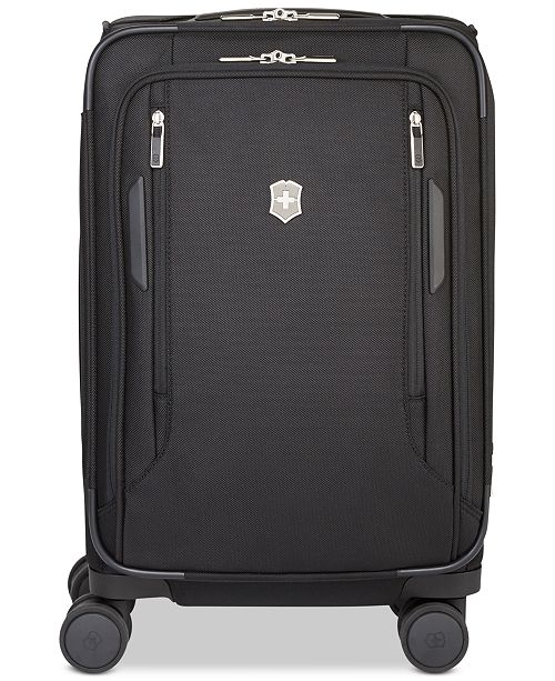 """Victorinox Swiss Army VX Avenue 22"""" Frequent Flyer Softside Expandable Carry-On Suitcase"""