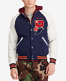 Polo Ralph Lauren Men's Fleece Letterman Jacket