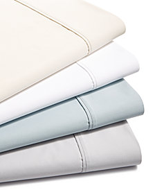 Charter Club 700 Thread Count Egyptian Cotton 4-Pc. Solid Sheet Sets, Created for Macy's