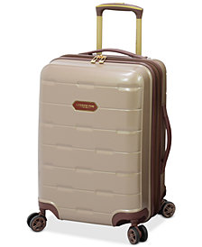 "London Fog Brentwood 20"" Hardside Carry-On Spinner Suitcase, Created for Macy's"
