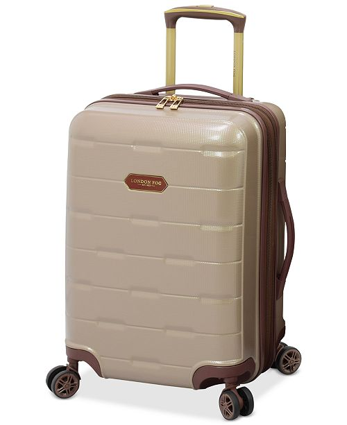 "London Fog Brentwood 20"" Hardside Carry-On Luggage, Created for Macy's"