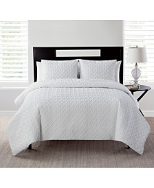 VCNY Home Nina Embossed Quilt Collection