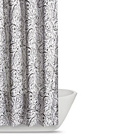 Truly Soft Watercolor Paisley Shower Curtain