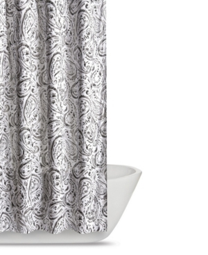 Truly Soft Watercolor Paisley Shower Curtain Bedding