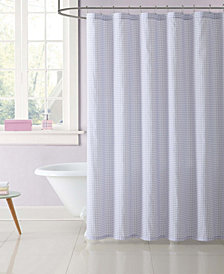 Laura Hart Kids Gingham Shower Curtain